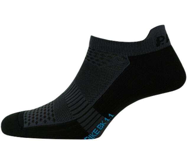 P.A.C. BK 1.1 Bike Footie Zip Sokken Dames, zwart